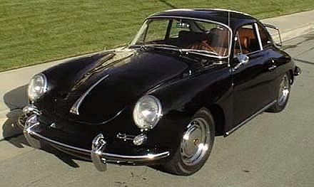 65 Porsche 356SC black c3