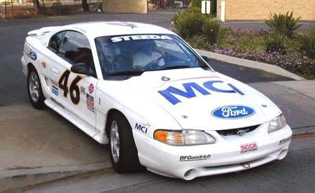 Jason Priestleys Mustang Cobra R Race Car