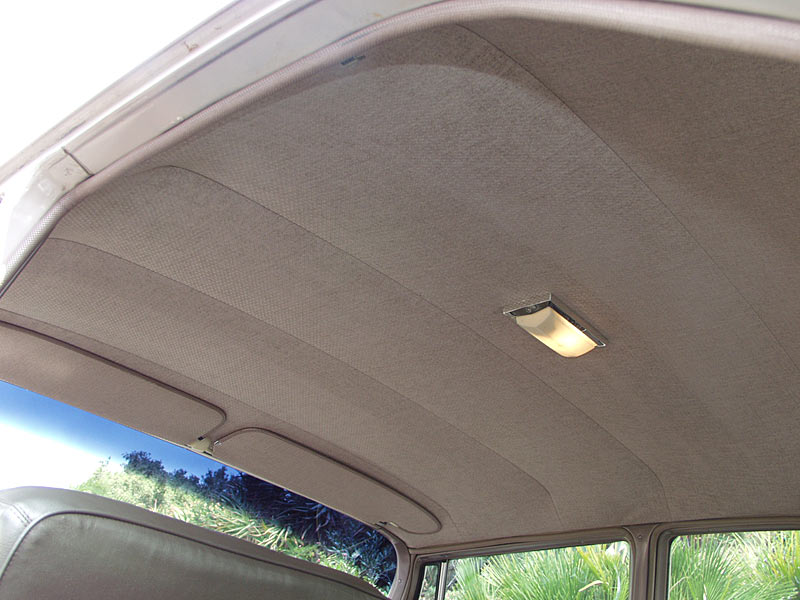 Auto Upholstery Bay Area   Cleaning The Headliner And Dashboard   Cooks  Upholstery And Classic Restoration Redwood City