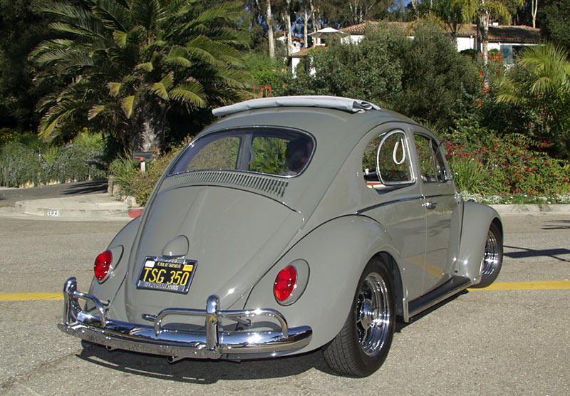 A 1963 Old School Volkswagen Ragtop Beetle