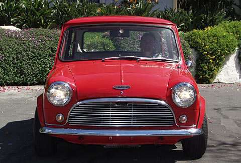 A California 1964 Austin Mini Cooper