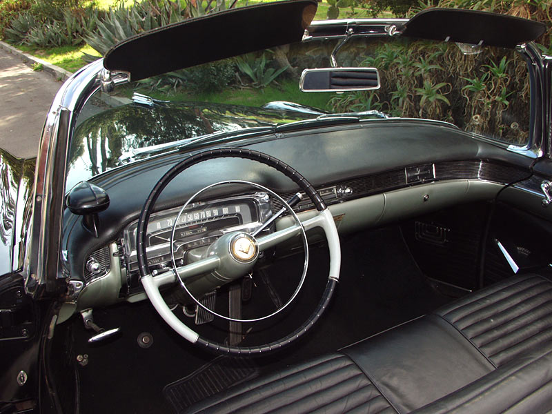 An Amazing 1955 Cadillac Convertible For Sale At