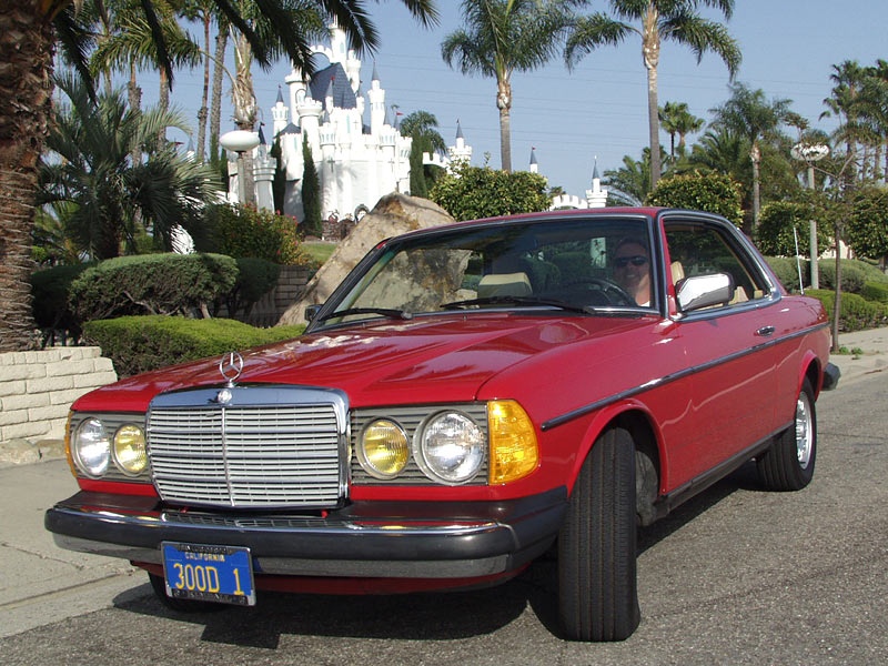 An exceptional Mercedes 300CD Turbo Diesel, sold at