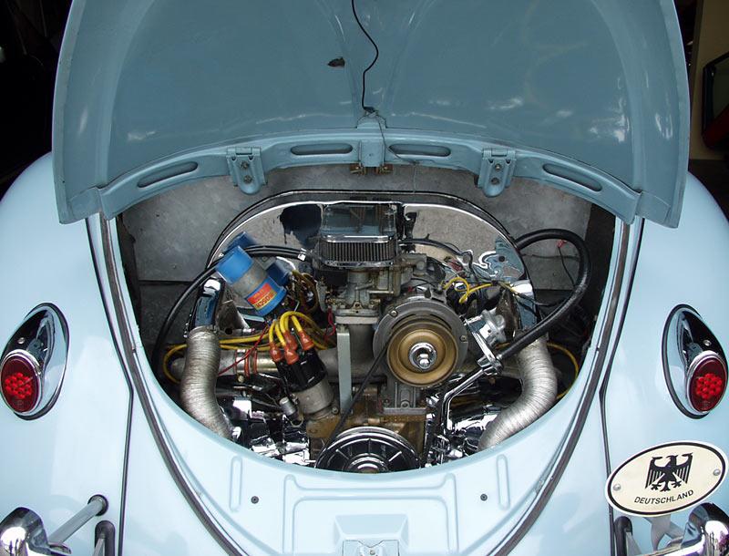 A unique 1957 Volkswagen Oval Window Ragtop Beetle, sold by Californiaclassix.com!