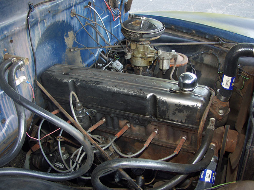 Old Pickup Engine Compartment : An all original chevy stepside shortbed pickup