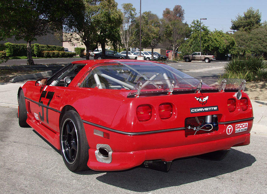 A Corvette Road Race Monster, sold by Californiaclassix com!