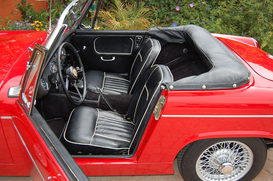 A Fantastic MG Midget SOLD At Californiaclassix