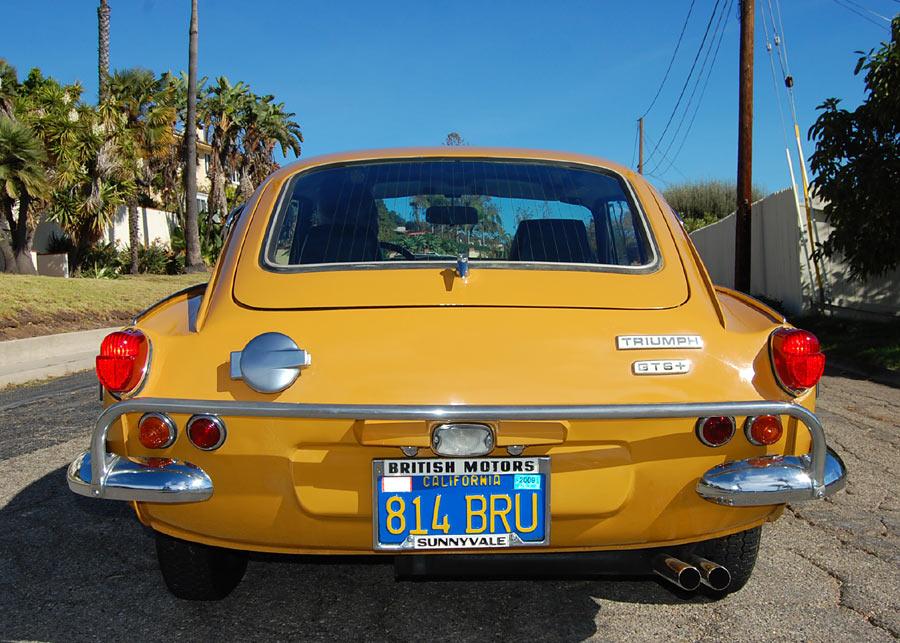 A Rare Trimph Tr6 Sold By Californiaclassix Com