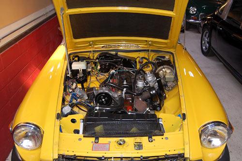 A 1980 Mgb  Sold By Californiaclassix Com