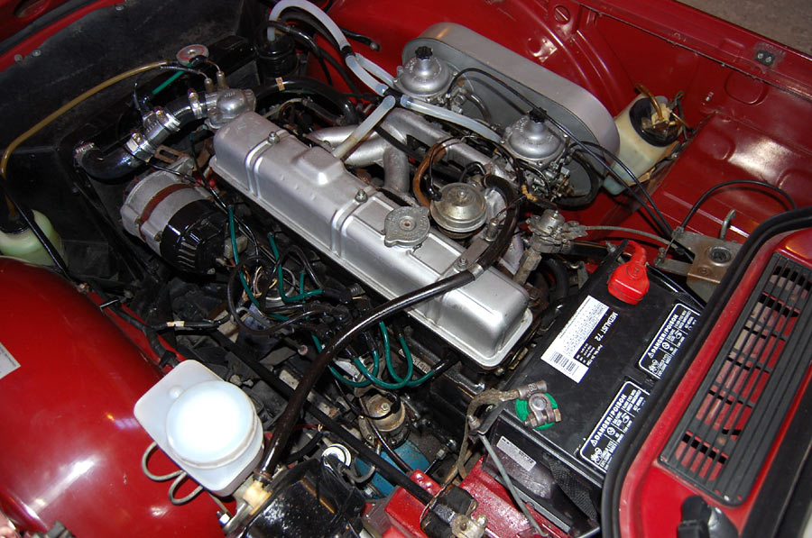 A Magnificient Triumph Tr6 Roadster Sold By