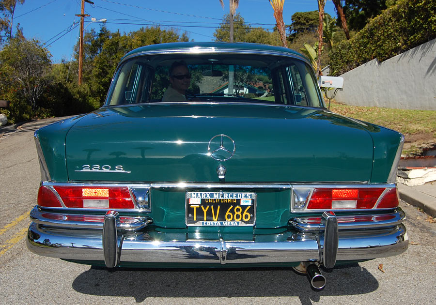 an exceptionally preserved 1967 mercedes 230s sold by rh californiaclassix com Mercedes M110 Specs 1980 Mercedes SLC