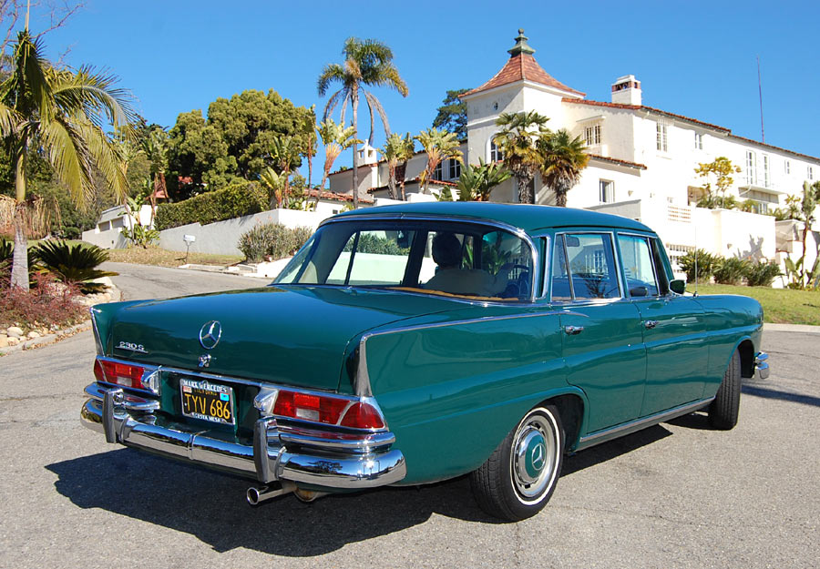 an exceptionally preserved 1967 mercedes 230s sold by rh californiaclassix com