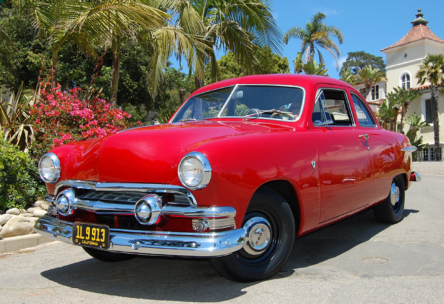 A 1951 Ford Custom Coupe Sold By Californiaclassix Com