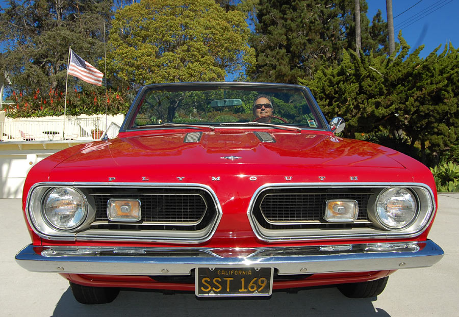 A 1967 Plymouth Barracuda Convertible Sold By