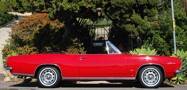A 1967 Plymouth Barracuda Convertible, SOLD by