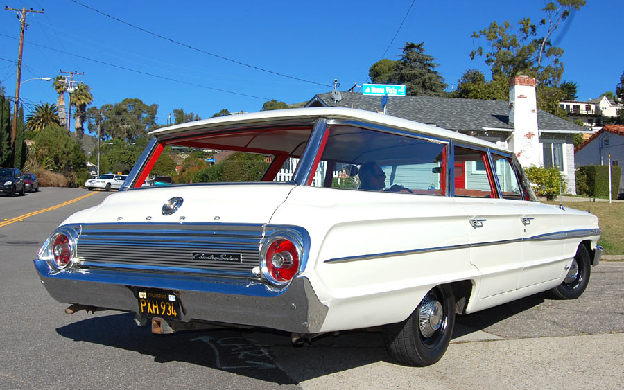 A 1964 Ford Country Sedan station wagon, SOLD by Californiaclassix ...