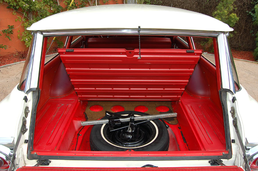 A 1964 Ford Country Sedan station wagon, SOLD by