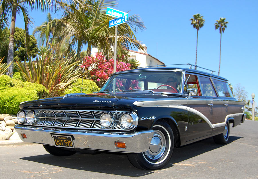 A 1963 Mercury Monterey Colony Park Station Wagon, SOLD by
