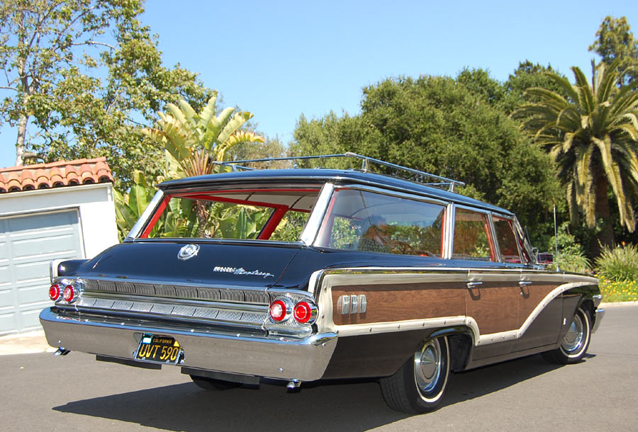 Big Red Wagon >> A 1963 Mercury Monterey Colony Park Station Wagon, SOLD by ...