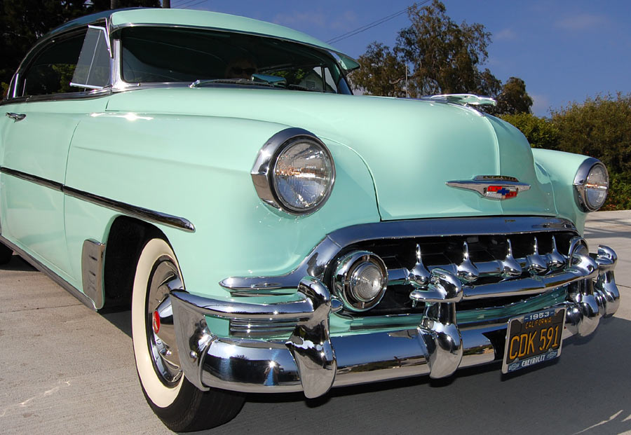 A 1953 chevrolet bel air 2 door hardtop sold by for 1953 chevy belair 2 door hardtop