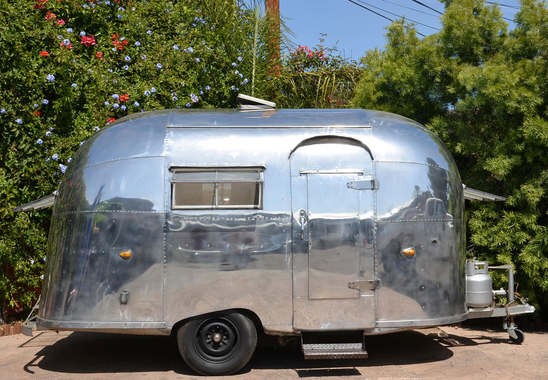 A 1957 Airstream Bubble, SOLD by Californiaclassix com!