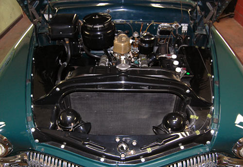 C Engine Thumb on 1937 Ford Vin Number Location