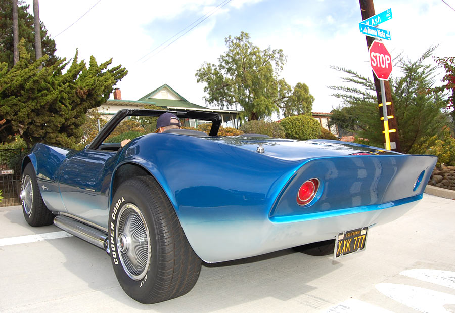 A 1968 Corvette Mako Shark Convertible Sold By Californiaclassix
