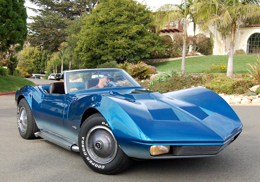 A 1968 Corvette Mako Shark Convertible Sold By
