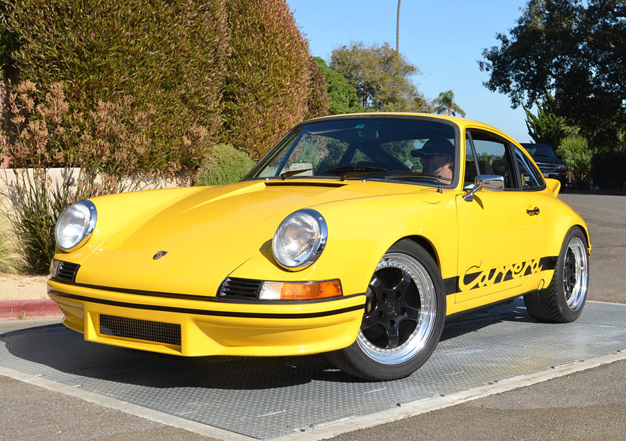 a 1973 porsche 911 rs carrera replica sold by. Black Bedroom Furniture Sets. Home Design Ideas