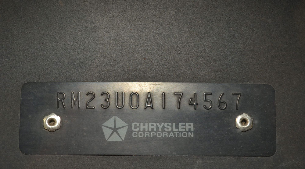 Image Result For Dodge Charger Fender Tag Decoder