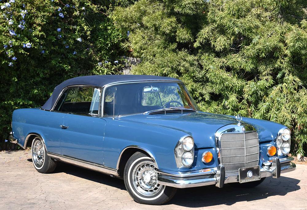 lucille ball 39 s 1967 mercedes benz 250se cabriolet now for sale at. Black Bedroom Furniture Sets. Home Design Ideas