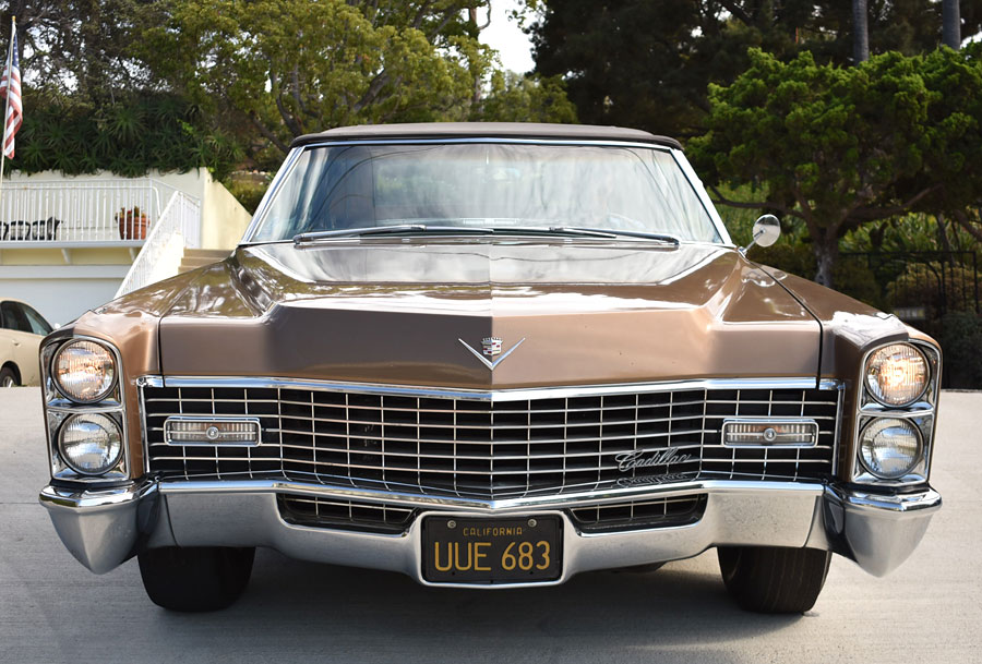 A One Owner California Black License Plate '67 Cadillac ...