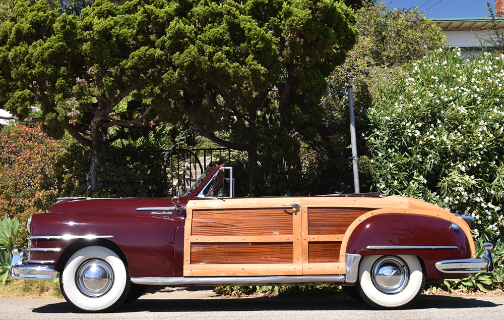 A 1948 Chrysler Woody Convertible Now For Sale At
