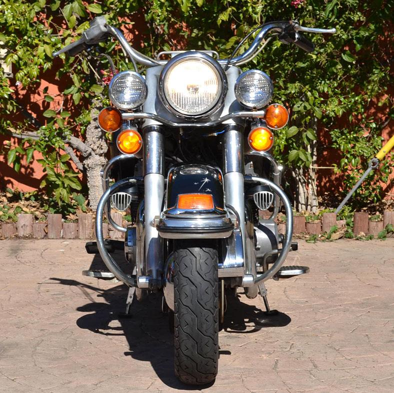 My Honda-powered 1973 Harley-Davidson Electra Glide!