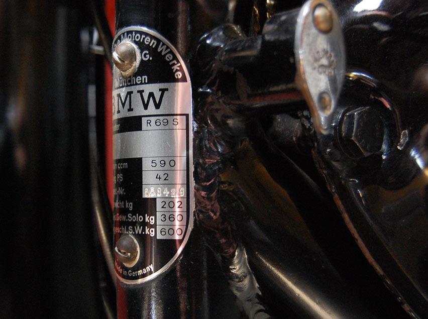 My Bmw R69s