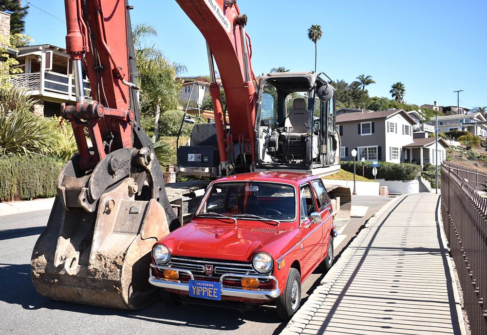 An amazing 13K-mile 1-Owner Honda N600, now for sale at ...